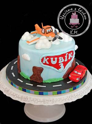 Cars and Planes - Cake by Tynka