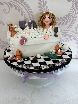 In the bath tub! - Cake by Zoe's Fancy Cakes