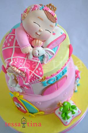 Dream Princess Cake - Cake by tessatinacakes
