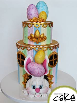 Easter Rabbit - Cake by Inspired by Cake - Vanessa