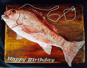 Hooked a big one! - Cake by Lesley
