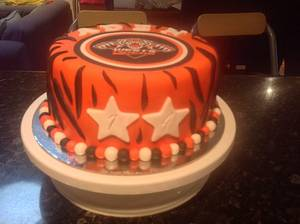 West Tigers Footy Cake - Cake by Sweet Creative Cakes by Jena