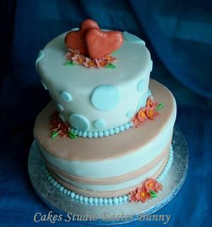 Wedding cake - Cake by Irina Vakhromkina