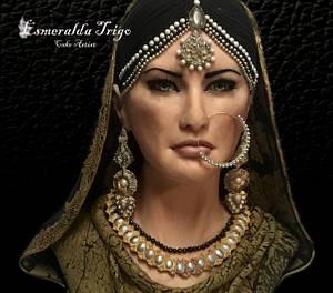 Internacional sugar cake collab Pakistán  - Cake by Esmeralda trigo