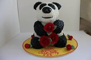 Giant Panda Birthday Cake! - Cake by Paul James