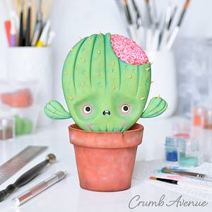Zombie Cactus - Cake by Crumb Avenue