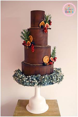 Autumnal Chocolate Heaven - Cake by Dollybird Bakes