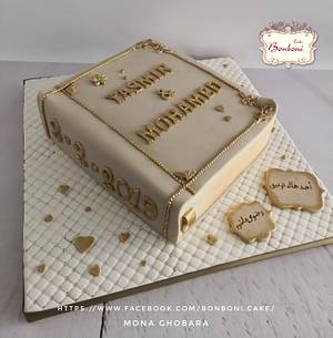 book cake - Cake by mona ghobara/Bonboni Cake