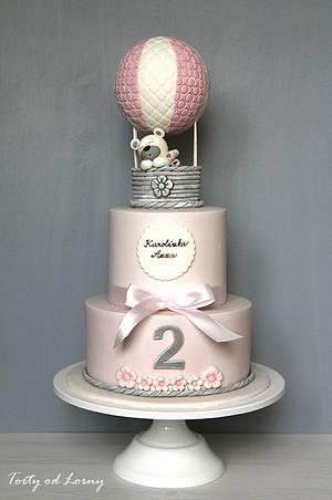 Hot air balloon.. - Cake by Lorna