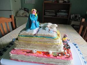 Book cake - Cake by Marica