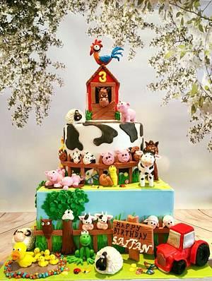 Barnyard - Cake by Tiers of joy