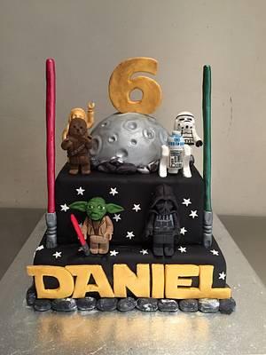 Lego star wars cake - Cake by Micol Perugia