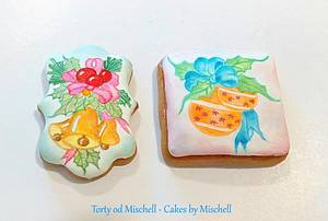 Hand painted gingerbread - Cake by Mischell