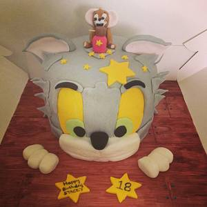 Tom and jerry  - Cake by Marie