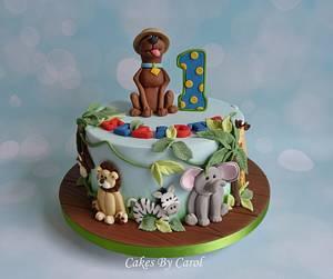 Scooby on Safari - Cake by Carol