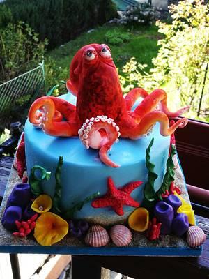Octopus cake  - Cake by Alessandro Mariani