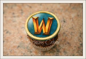 Gaming Cupcakes - World of Warcraft - Cake by Princess Crème