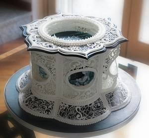 Silent night  - Cake by Claudia Prati