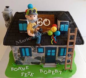 House cake - Cake by Marie-France