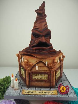 Harry Potter Baby Shower Cake - Cake by PeggySuesCC