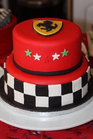 Ferrari Cake  - Cake by Cheeky Munch Cakes