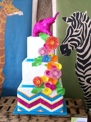 Operation Shower - Cake by Stevi Auble