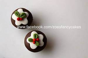 More mini Christmas cupcakes - Cake by Zoe's Fancy Cakes