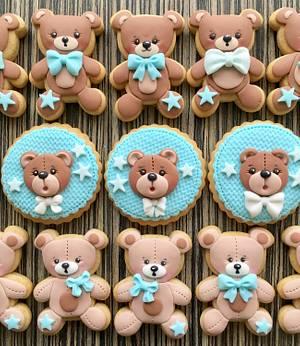 Little bears cookies 🐻  - Cake by sansil (Silviya Mihailova)