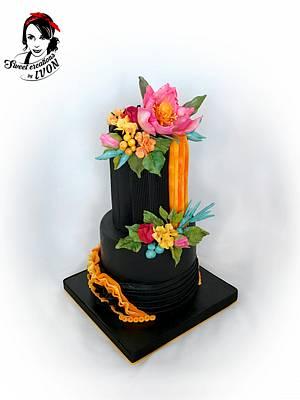 Black elegance - Cake by Ivon