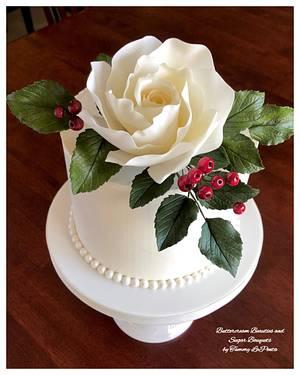 ~ Elegant Rose Cake ~ - Cake by Tammy LaPenta