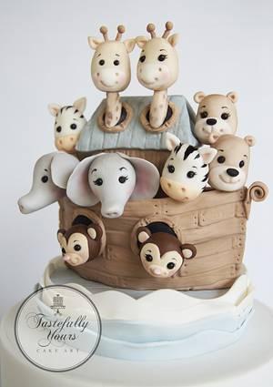 Sebastian's Ark - Cake by Marianne: Tastefully Yours Cake Art