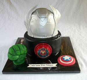 Avengers Cake - Cake by DeliciousDeliveries