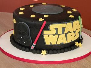 star wars cake - Cake by Dani Johnson