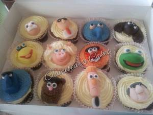 muppets cupcakes - Cake by ClairebearsCakes