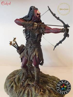 Lord of the rings Lurtz - Cake by Caked
