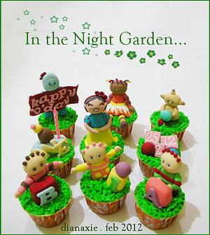 In the Night Garden - Cake by Diana