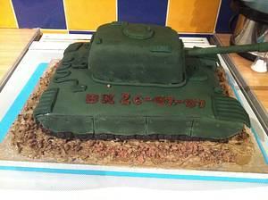 TANK CAKE - Cake by melinda