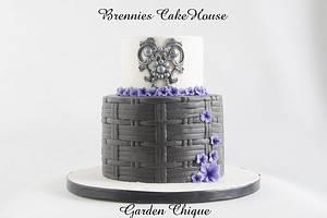 garden chique - Cake by Brenda Bakker