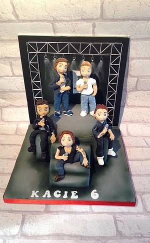 1d 1 direction cake - Cake by Edible Essence Cake Art