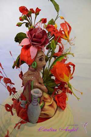 """UNSA Team Red  """" In the shadow"""" - Cake by Catalina Anghel azúcar'arte"""