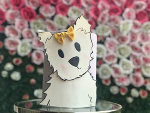 Cake for a dog lover or even a dog! - Cake by Meringue