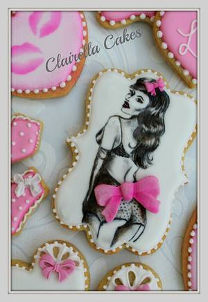 """""""Sweet Love"""" Valentine Cookies - Cake by Clairella Cakes"""