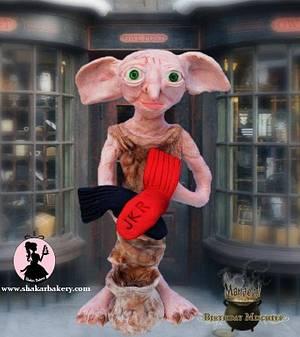 Harry Potter: Dobby The House-Elf  - Cake by Shantal