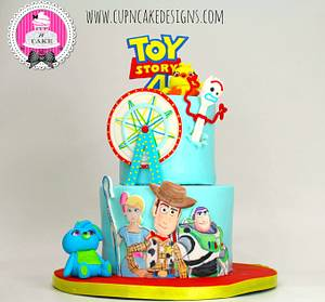Toy Story 4 cake! - Cake by Danielle Lechuga