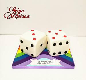 Dice cake - Cake by Irina-Adriana