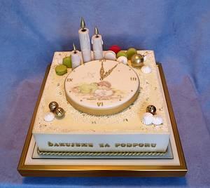 Christmas cake - Cake by AnkaP