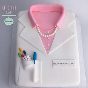 Torta Médico Medellín - Cake by Dulcepastel.com