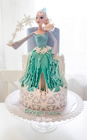 Frozen Elsa Cake - Cake by Art Bakin'