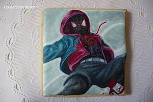 Spiderman into the spider-verse - Cake by ginaraicu