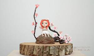 Blossom Bloom - Away with the Fairies Centrepiece - Cake by Mila - Pure Cakes by Mila
